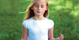bambino medita
