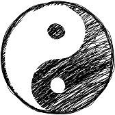 15148491-doodle-simbolo-yin-yang