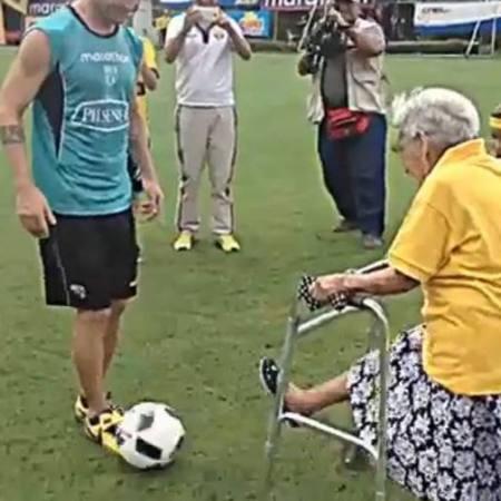 allenamento nonna