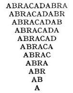 parole magiche abracadabra
