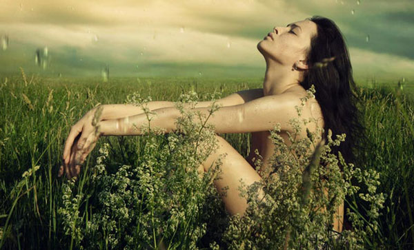 natura umana donna animale