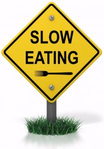 mangiare piano lentamente