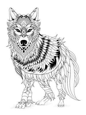 il lupo della preoccupazione